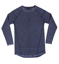 Crush Denim Fleece truien 11810912 mdnr w Blauw
