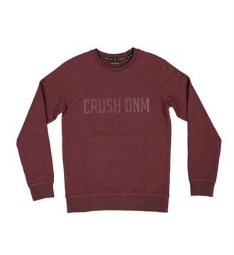 Crush Denim Fleece truien Xtension 001 Bordeaux
