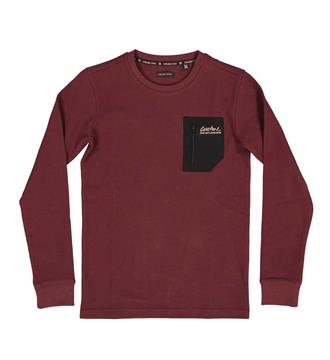Crush Denim Fleece truien Xtension 16a Bordeaux