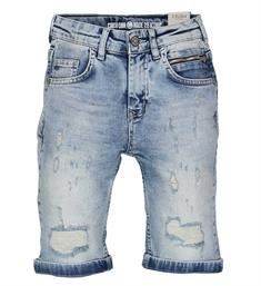 Crush Denim Korte broeken 11810504 kees Blue denim