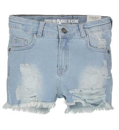 Crush Denim Korte broeken 11820107 donna Bleached denim
