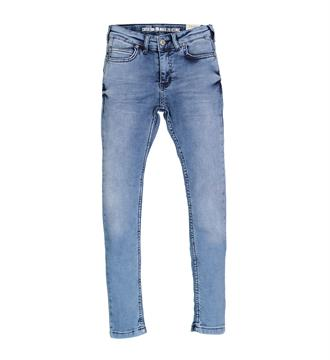 Crush Denim Skinny jeans 11810104 regula Blue denim