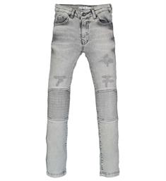 Crush Denim Skinny jeans 11810105 silico Grey denim