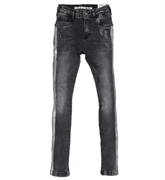 Crush Denim Skinny jeans 11820309 tess Black denim