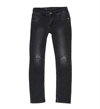 Crush Denim Slim jeans Stan001 Black denim