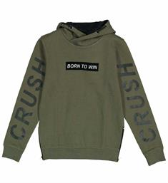 Crush Denim Sweatshirts 31811141 spinne Army