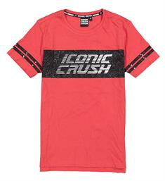 Crush Denim T-shirts 31811508 iconic Rood