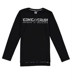 Crush Denim T-shirts 31811710 tenson Zwart