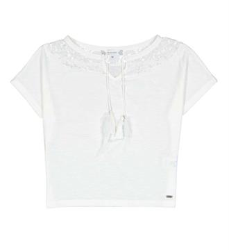 Crush Denim Tops 11821563 isabel Off white