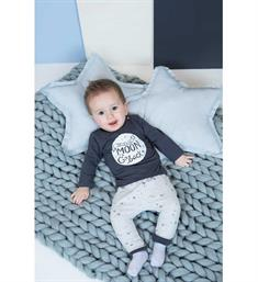 Feetje newborn T-shirts 516.01059 Antraciet