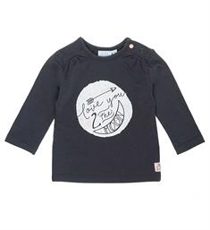 Feetje newborn T-shirts 516.01065 Antraciet