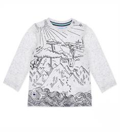 Feetje T-shirts 516.01150 Off white dessin