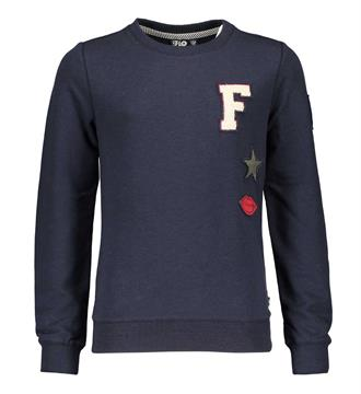 Flo Fleece truien F708-5317 Navy