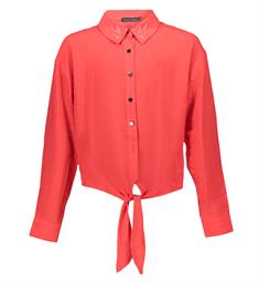 Frankie and Liberty Lange mouw blouses Fl19713 Rood