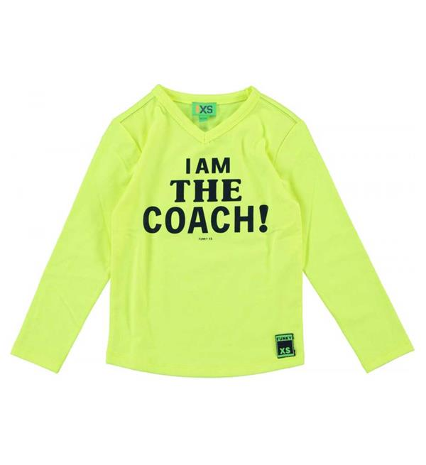 funky-xs-t-shirts-fs-coach-tee-geel