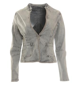 Geisha Denim jackets 75020 Black denim