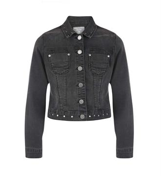 Geisha Denim jackets 75513k Black denim
