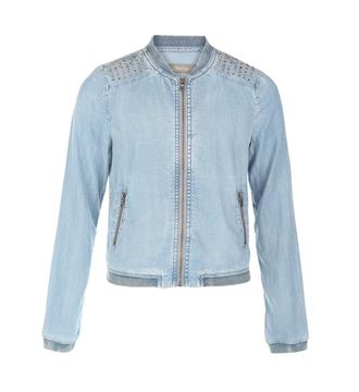 Geisha Denim jackets 85004k Blue denim