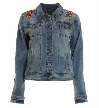 Geisha Denim jackets 85010 Blue denim