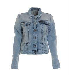 Geisha Denim jackets 85012 Blue denim