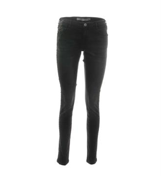 Geisha Lange broeken 71611 Black denim