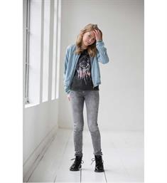 Geisha Skinny jeans 81022k-2664 Black denim