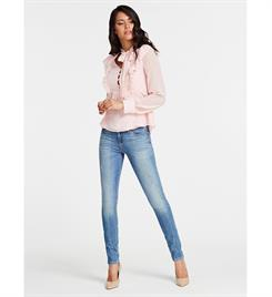 Guess dames Tops W01h65 w8sl0 ls juna top Roze