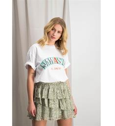 Harper and Yve Korte mouw T-shirts Ss19k326 nameste Wit