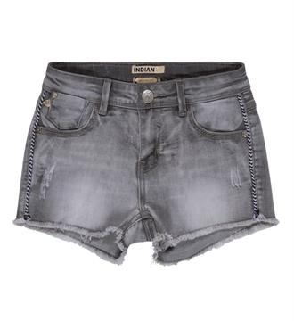 Indian Blue Jeans Denim shorts Ibg17-6014 Black denim