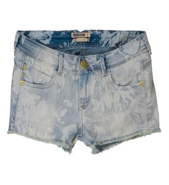 Indian Blue Jeans Denim shorts Ibg17-6016 Blue denim