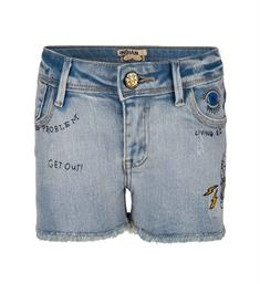 Indian Blue Jeans Denim shorts Ibg18-6004 Blue denim