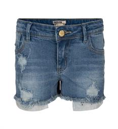 Indian Blue Jeans Denim shorts Ibg18-6005 Blue denim