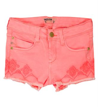 Indian Blue Jeans Shorts Ibg17-6020 Pink