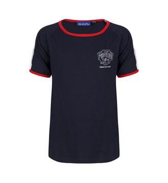 Indian Blue Jeans T-shirts Ibb18-3603 Navy