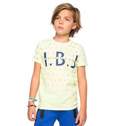 Indian Blue Jeans T-shirts Ibb18-3614 Geel