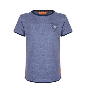 Indian Blue Jeans T-shirts Ibb18-3669 Blauw