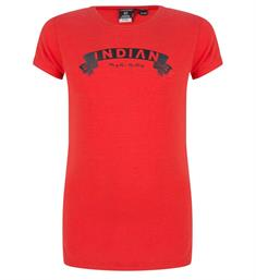 Indian Blue Jeans T-shirts Ibg28-3109 Rood
