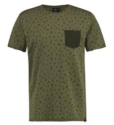 Kultivate Korte mouw T-shirts Ts bits Army