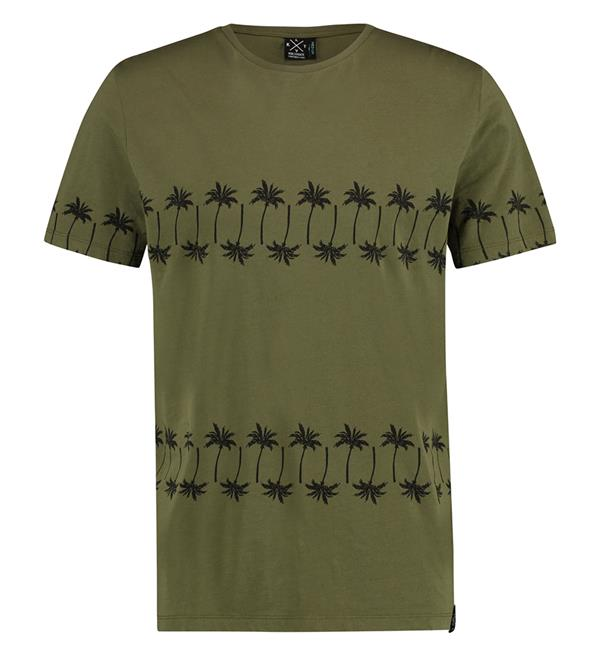 kultivate-korte-mouw-t-shirts-ts-palm-road-army