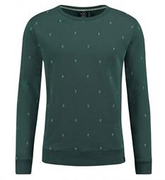 Kultivate Sweaters Sw thunderbolt Groen