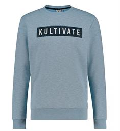 Kultivate Sweatshirts Sw branded Blauw
