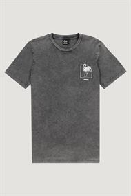 Kultivate T-shirts Td sketchy flamingo