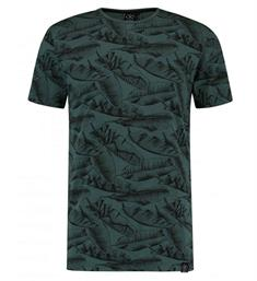 Kultivate T-shirts Ts banana leaf Aqua