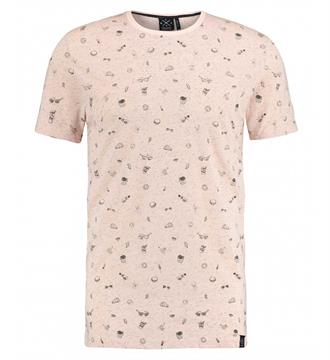 Kultivate T-shirts Ts doodles Peach