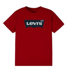 Levi's Korte mouw T-shirts Np10027 batwing tee Rood