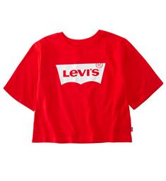 Levi's Korte mouw T-shirts Np10617 light bright cr tee Rood