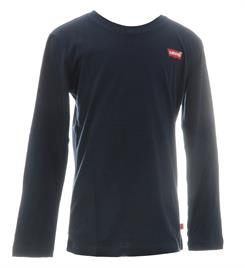 Levi's Lange mouw T-shirts Np10227 ls spine l-tab Navy