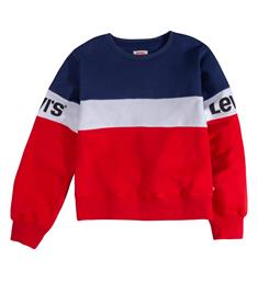 Levi's Sweatshirts Np15537 colorblocked cr sweat Blauw