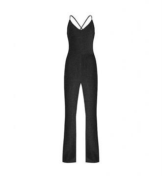 Lofty Manner Jumpsuit Veerle Zwart