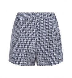 Lofty Manner Korte broeken Short indy Blauw dessin